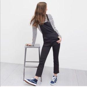 Madewell black overalls Sz xs Jeans